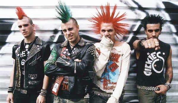 Как уличный панк или хардкор панк